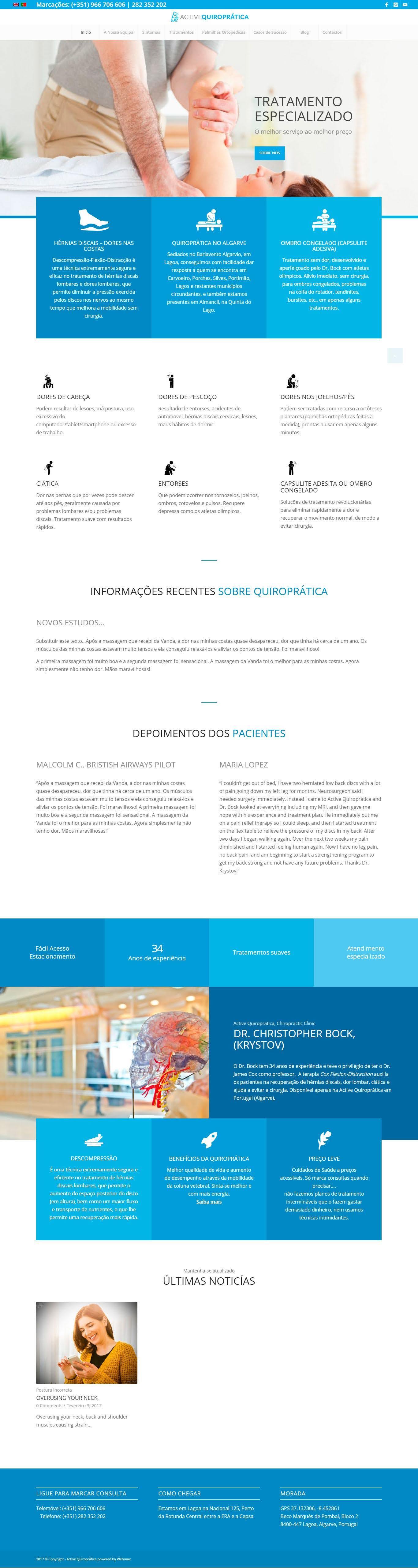 Portfolio - activequiropratico